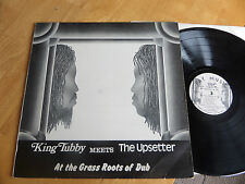 King Tubby Meets The upsetter AT THE GRASS ROOTS OF DUB FAY MUSIC 1974 VG