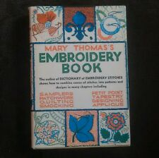 Mary Thomas's Embroidery Book   Embroidery Stitch Book Vintage