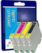 4 Non-OEM Ink Cartridges T1285 for Epson Stylus SX125 S22 BX305FW Plus Printers