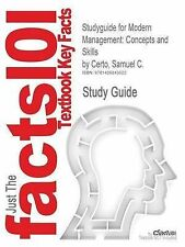 Studyguide for Modern Management: Concepts and Skills by Certo, Samuel C., ISBN