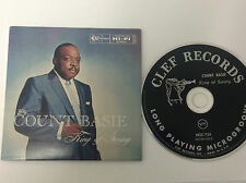 COUNT BASIE KING OF SWING - RARE  CD QUALITY CHECKED & FAST FREE P&P