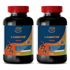 Fat Burning Formula Tablets - L-Carnitine 500mg - L Carnitine Liver Health 2B