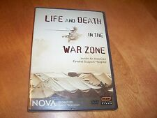 Life & Death In The War Zone American Combat Support Hospital NOVA PBS DVD NEW