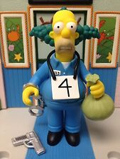 Playmates The Simpsons World of Springfield WoS Series 9 Busted Krusty the Clown