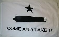 Come And Take It Gonzales Flag 3' x 5' Gun Owners Rights Indoor Outdoor Banner