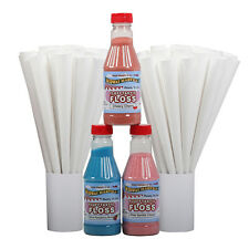 Great Northern Popcorn 3 Party Pack Cotton C&y Sugar Floss Flufftastic - Pint