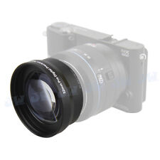 52mm 2x HD telephoto zoom lens For Samsung NX2000 NX3000 NX1100+20-50MM lens