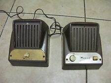 Vintage Masco JM-1 Sound Intercom System Speakers Old Collectible 1950's