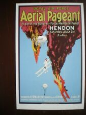 POSTCARD AVIATION POSTER AERIAL PAGENT HENDON JULY 3RD