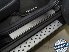 Stainless Steel Door Sill Entry Covers Scuff Protector Geely Emgrand X7 GX7 2013
