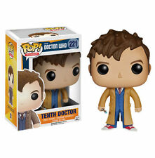 NEW* Dr Who - 10th Tenth Doctor with Screwdriver #221 Pop! TV Vinyl - Funko 4627