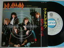 DEF LEPPARD PHOTOGRAPH / 7INCH NM MINT- CLEAN COPY