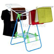 US Folding Clothes Drying Rack Hanger Laundry Dryer Indoor Foldable Household