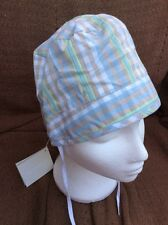 **NWT** Baby Boy Checked Sun Hat By Miniman (51cm) ***FREE UK P&P***