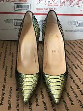 Christian Louboutin Python Mermaid Mimosa Pump SIZE 38/8