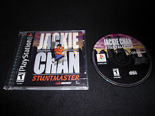 Jackie Chan Stuntmaster (Sony PlayStation 1, 2000) PS1 - Complete / Tested