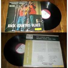 Sonny Terry & Brownie McGhee – Back Country Blues LP ORG French Blues BIEM