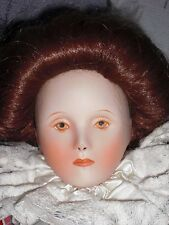 QUEEN ELIZABETH FIRST DOLL - FRANKLIN MINT - APPROX 19 INCHES (NO BOX) - BISQUE