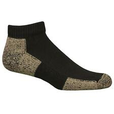 Copper Sole Socks Black MED Ultimate Protection Athletic Low Cut NWT UNISEX  1PR