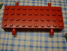 LEGO Brick 4x10 with Wheel Holders rot red 30076 Platte & Halter 4120 4176 4139