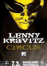 """LENNY KRAVITZ TOUR POSTER / KONZERTPLAKAT """"CIRCUS TOUR"""""""