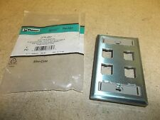 NEW Panduit Mini-Com Faceplate CPFL4SY 13030333V *FREE SHIPPING*