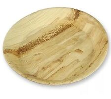 *5@5 Palm Leaf Plate 18cm Round 100pk Eco Party