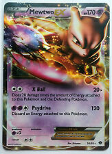 MEWTWO EX 54/99 B&W Next Destinies Ultra Rare Holo Near Mint Pokemon Card