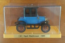 Ziss Euro-Modell 1908 Opel Stadtcoupe With Case Made in Germany