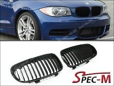 Jet Black Replacement Front Grille Grill For 2008+ E82 E88 120i 128i 135i 1M