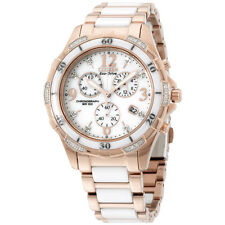 Citizen Eco-Drive Ceramic Rose Gold Band Women's Watch FB123351A