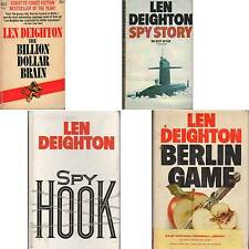 LOT 4 Len Deighton BERLIN GAME SPY HOOK STORY BILLION DOLLAR BRAIN D2