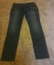 WOMEN'S JUNIORS  LUXIRIE BY LRG DARK WASH SKINNY JEANS  SIZE 15/32