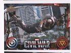 2016 Captain America Civil War GOLD PARALLEL 7 Falcon 01/10