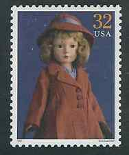 Scott  #3151-e...32 Cent...American Dolls...American Child...10 Stamps