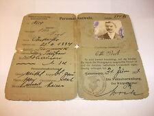 historische Papiere und Dokumente: Personalausweis Ausweis Keiserswerth 1923