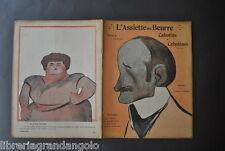 Rivista Caricature Teatro Assiette Beurre les Cabotines Camara Parigi 158  1904
