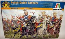 italeri 1/72 NAPOLEONIC POLISH-DUTCH LANCERS FIGURES