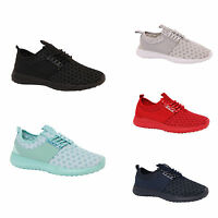 LADIES WOMENS FASHION FITNESS TRAINERS CASUAL POLKA DOT LACE UP STYLE SHOES