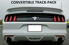 FOR FORD MUSTANG CONVERTIBLE Track-Package Painted Rear Spoiler FITS 2015-2017