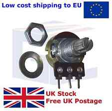 B50K 50k Ohm POT Adjustment Single Linear Rotary Taper Potentiometer
