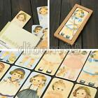 30pcs Vintage Girl Doll Scenes Beautiful Design Lovely Paper Bookmark Set Sweet