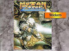 Mutan Zone (Stickers) Pegatina 1988 Opera Soft  27,5Cm x 19,5Cm ,Amstrad,Msx..