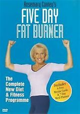 Rosemary Conley's Five Day Fat Burner (2003)  UK REGION 2 DVD