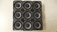 9 X Bose Drivers Loud Speakers Full Range 2.55 inch 4.6 Ohm, 30 Watts RMS