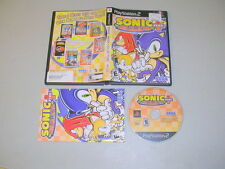 SONIC MEGA COLLECTION (Playstation 2 PS2) Complete BL