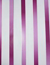 Dieter Bohlen Vlies Tapete PS 13165-10 Streifen gestreift pink brombeer weiß