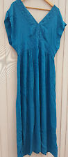 Monsoon Teal evening occasion formal wedding cocktail prom DRESS SIZE 18 BNWT