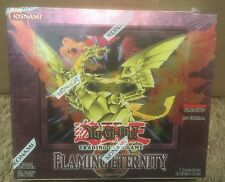 Yu-Gi-Oh Flaming Eternity Booster Box 1st Edition English New Factory Sealed!