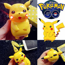 Pokemon Go External 10000mAh Pikachu Power Bank LED USB Battery Phone Charger US